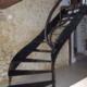 escalier et garde-corps en métal