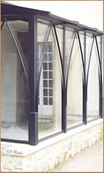 verrière d'extérieur pour véranda en métal