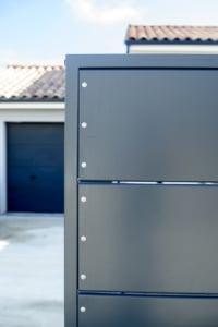 portail design coulissant en métal