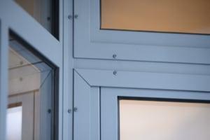 verrière prestigieuse en acier pour extérieur maison