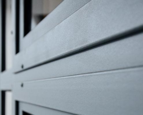 verrière d'extérieur en métal avec finition haut de gamme