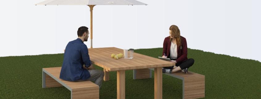 Table de Jardin en Fer forgé, Métal ou Acier - Ferronnerie ...