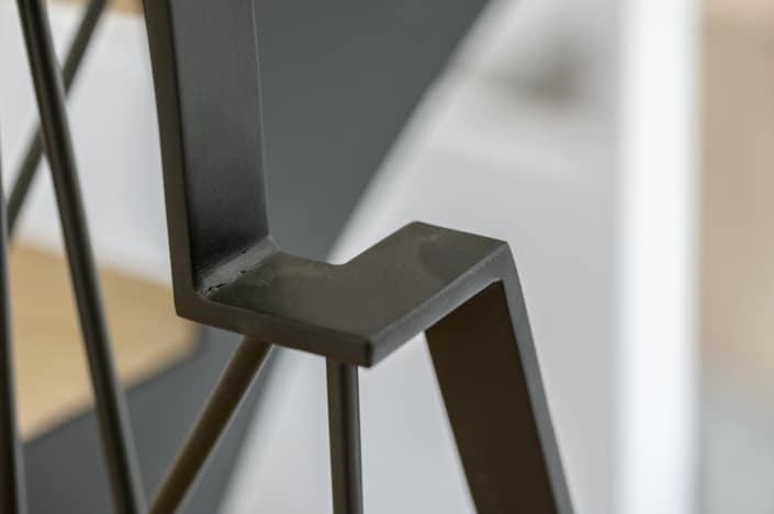 garde corps escalier en metal
