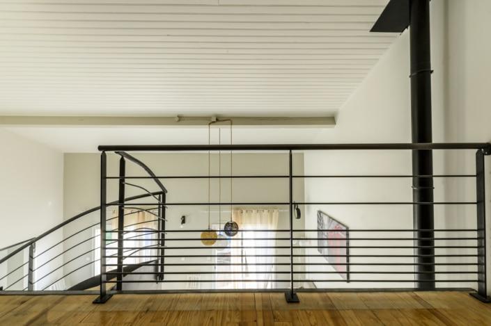 escalier et garde corps en fer design