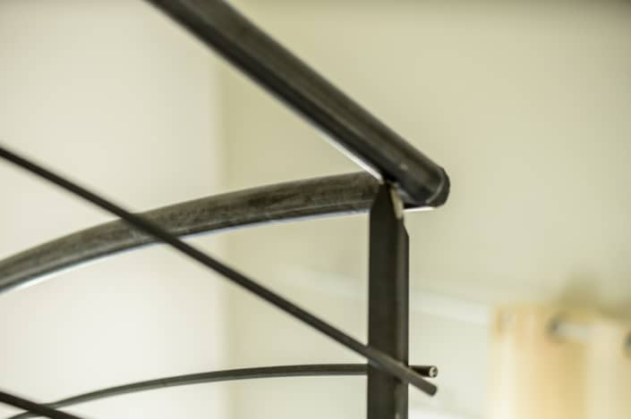 rampe en metal pour escalier