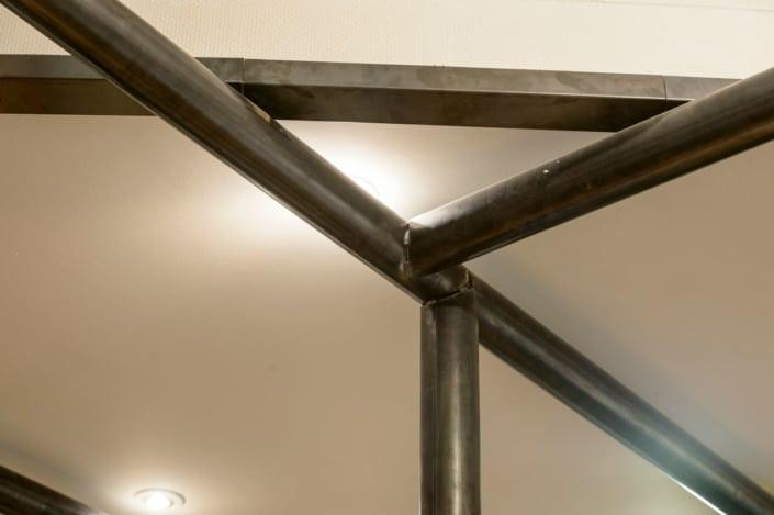 poteaux en acier