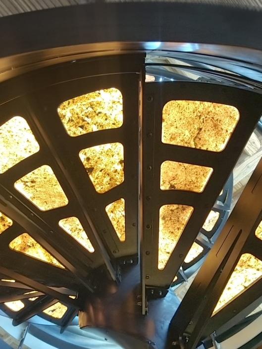 marche escalier en fer